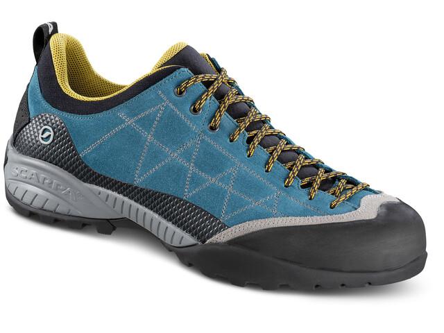Scarpa Zen Pro Chaussures Homme, lake blue/mustard